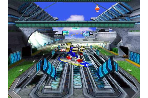 Sonic Riders Game - Free Download Full Version For PC