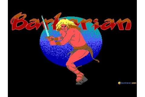 Barbarian: The Ultimate Warrior gameplay (PC Game, 1989 ...