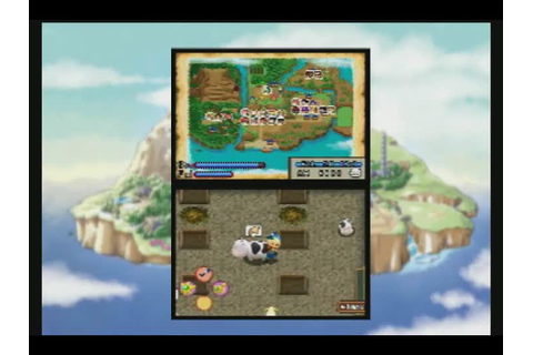 Gameplay Harvest Moon DS : Ile Sereine : Gameplay ...