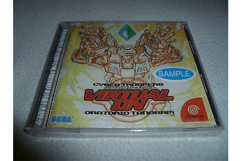 JP IMPORT SEGA DREAMCAST GAME CYBER TROOPERS VIRTUAL-ON ...