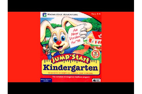 JumpStart Kindergarten (1998) - Game Intro - YouTube
