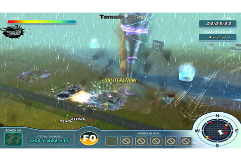 Tornado Jockey Game Play (Full HD) 3D - YouTube