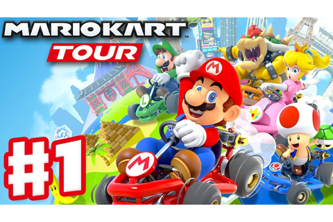 Mario Kart Tour - Gameplay Part 1 - New York Tour Mario ...