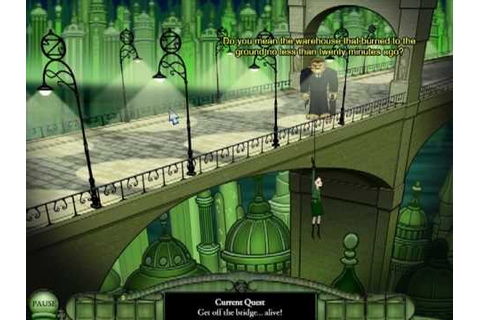 Emerald City Confidential (PC) (2009) (Wadjet Eye Games ...