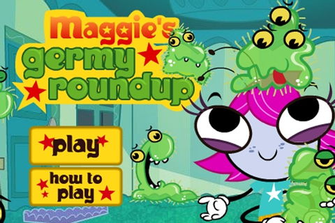 Maggie's Germy Roundup Game - Cartoon games - Games Loon