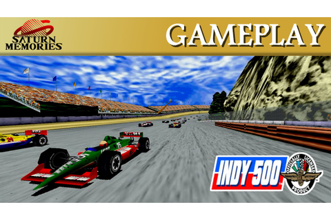 Indy 500 [Model 2] [Arcade] by SEGA - Highland Raceway (2 ...