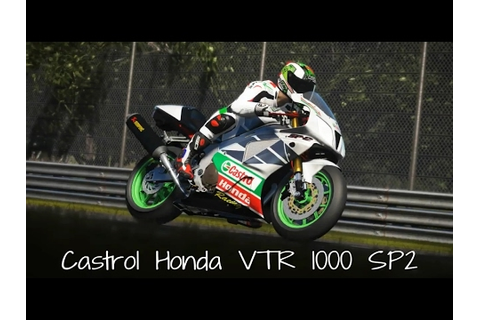 Castrol Honda VTR 1000 SP2 Monza - YouTube