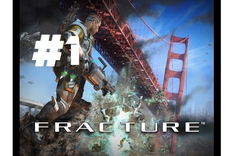 Fracture Full game Walktrought Gameplay part 1 XBOX 360 PS ...
