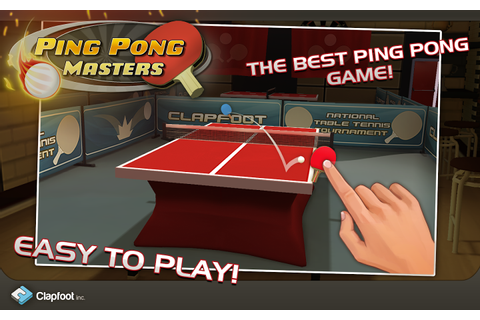 Ping Pong Masters - Android Apps on Google Play