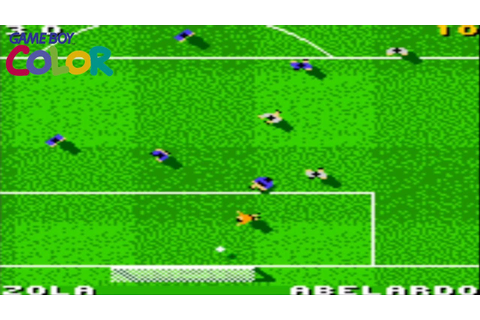 Total Soccer 2000 (Game Boy Color Gameplay) - YouTube
