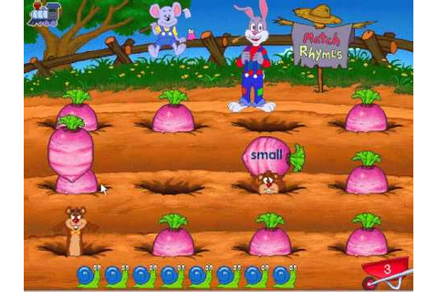 Reader Rabbit's Reading 2 Full Walkthrough - YouTube