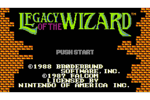 CGRundertow LEGACY OF THE WIZARD for NES Video Game Review ...