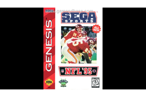 NFL '95 (Sega Genesis) - Game Play - YouTube