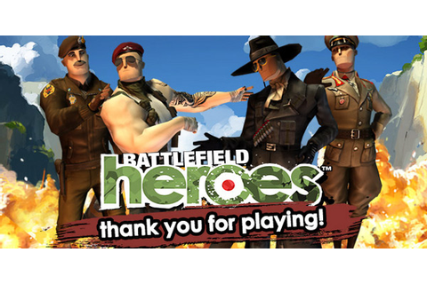 EA Is Shutting Down Battlefield Heroes And Other Free-To ...