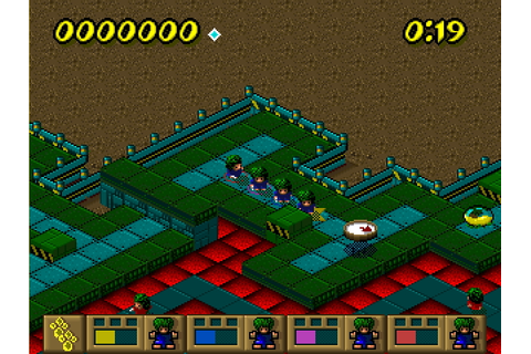Lemmings Paintball – Play Old PC Games