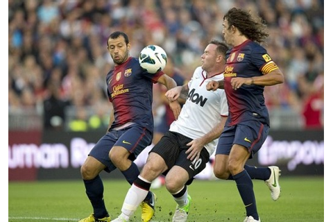 Manchester United vs Barcelona Friendly game ends 0-0 ...
