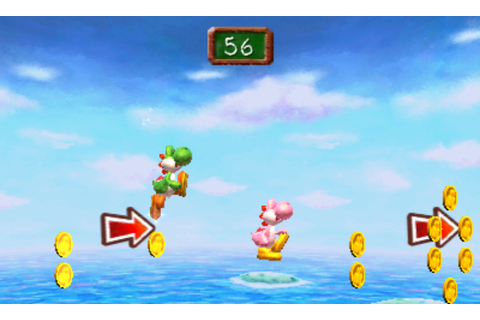 Yoshi's New Island multiplayer leaves the baby at home ...