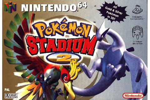 Pokemon Stadium 2 Nintendo 64 N64 Game Battle PNP for N64 ...