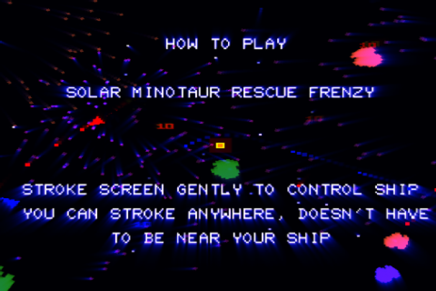 Jeff Minter går til iPhone - Solar Minotaur Rescue Frenzy ...