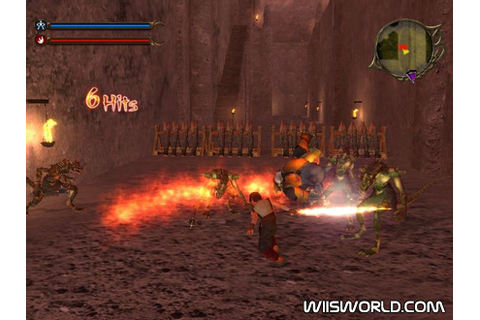 Dragon Blade: Wrath of Fire on Wii