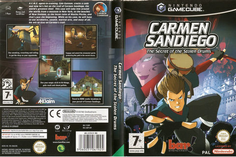 G3DP6L - Carmen Sandiego: The Secret of the Stolen Drums
