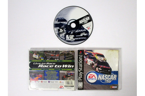 NASCAR 99 game for Playstation (Complete) | The Game Guy