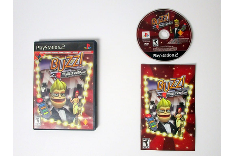 Buzz!: The Hollywood Quiz game for Playstation 2 (Complete ...