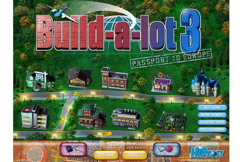 Build-a-lot 3 - Passport to Europe | GameHouse