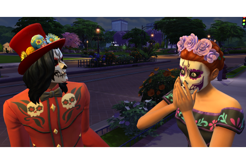 The Sims 4: Day of the Dead (Game Patch Overview) | SimsVIP