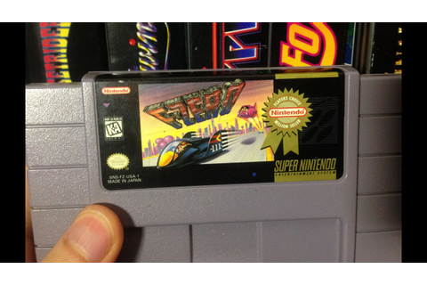 F-Zero (Super Nintendo Game) James & Mike Mondays - YouTube