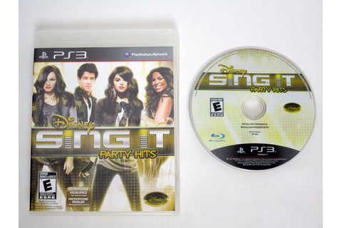Disney Sing It: Party Hits game for Sony PlayStation 3 ...