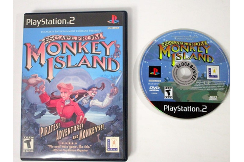 Escape from Monkey Island game for Playstation 2 | The ...