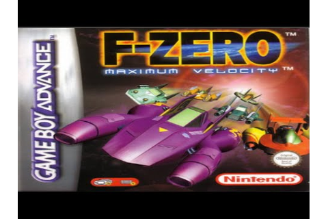 Gameplay F-Zero Maximum Velocity (GBA) - YouTube