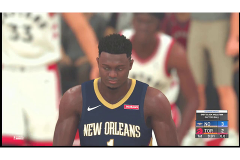 (NBA 2K20 ) Version 1.05 Opening Night Game 1 (New Orleans ...