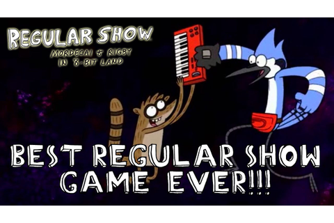 Regular Show: Mordecai and Rigby in 8-bit Land - 3DS ...