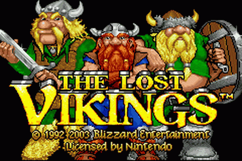 Play Lost Vikings, The Nintendo Game Boy Advance online ...