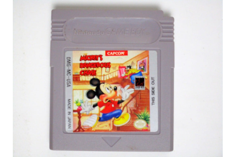 Mickey's Dangerous Chase game for GameBoy (Loose) | The ...