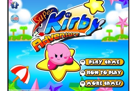New Super Kirby Adventure Game Play - YouTube