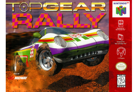 Top Gear Rally Nintendo 64 Game