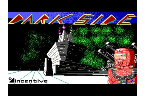 Dark Side, The gameplay (PC Game, 1988) - YouTube