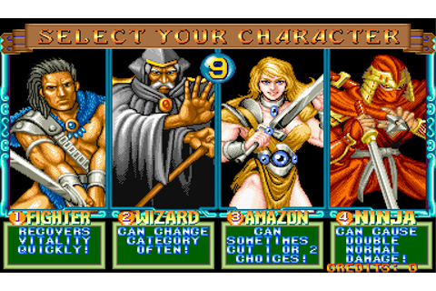 Quiz & Dragons: Capcom Quiz Game - Arcade - Alvanista