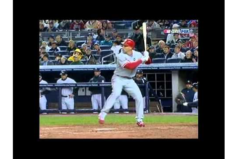 2009 World Series Game 1 - Phillies vs Yankees @mrodsports ...