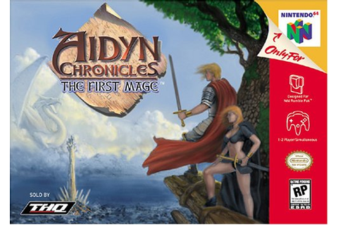 Aidyn Chronicles the First Mage Nintendo 64 Game