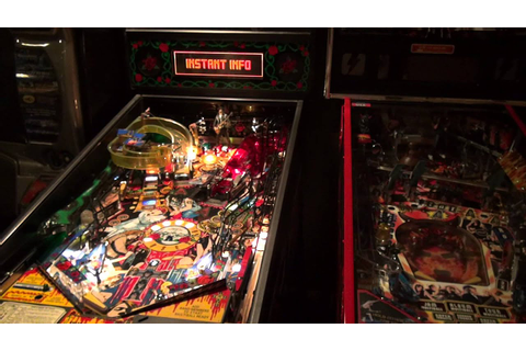 Guns n' Roses Pinball Machine Game Play by Great American ...