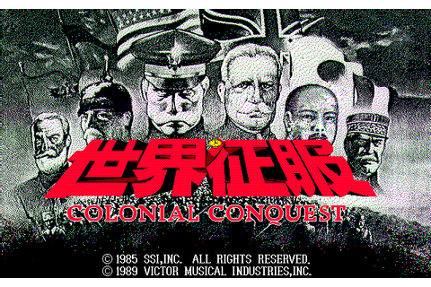 Download Colonial Conquest - My Abandonware