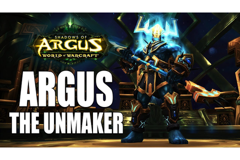 Argus the Unmaker in a Minute - Antorus Heroic Guide - YouTube