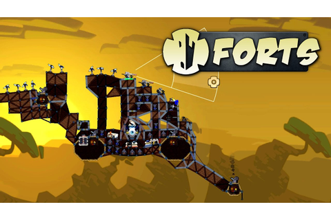 Forts - Best Cannon Fort Ever! - Let's Play Forts ...