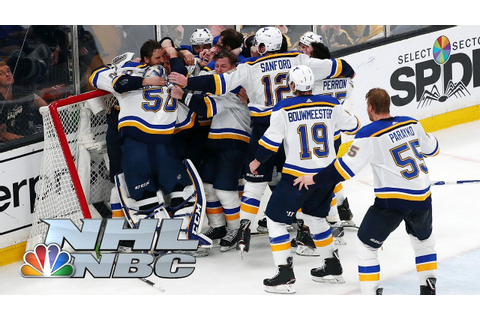 NHL Stanley Cup Final 2019: Blues vs. Bruins | Game 7 ...