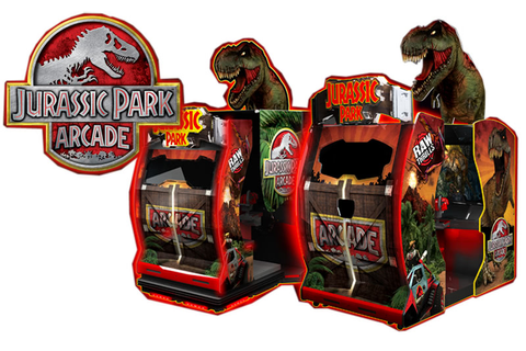 Namco Jurassic Park Arcade Machine | Liberty Games