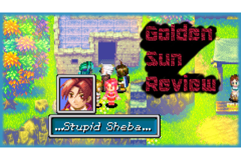 Golden Sun Review (GBA) - YouTube